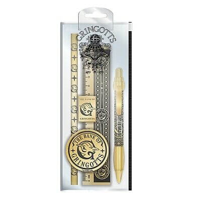 Harry Potter Gringotts Stationery Set