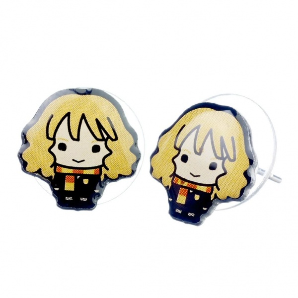 Harry Potter Hermione Granger Chibi Stud Earrings