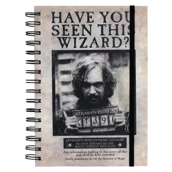 Harry Potter Wanted Sirius Black Notebook