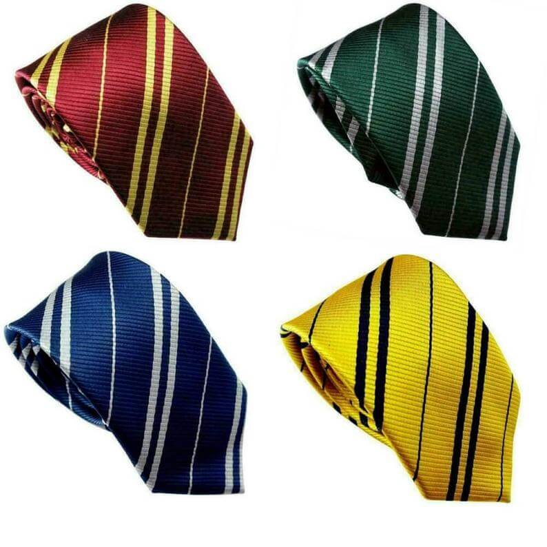 Wizard House Tie For Harry Potter Cosplay